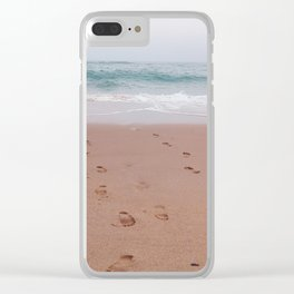 Different Path Clear iPhone Case