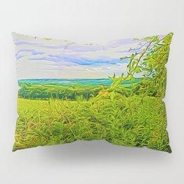 Parbold Hill (Digital Art) Pillow Sham