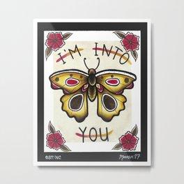 I'm Into You I Metal Print