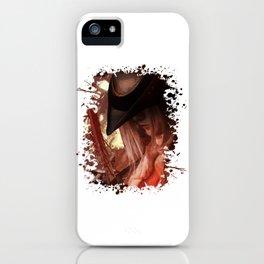 Blood Hunter iPhone Case