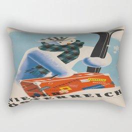 Vintage poster - Niederosterreich Rectangular Pillow