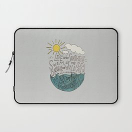 Emerson: Live in the Sunshine Laptop Sleeve