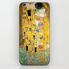 Gustav Klimt The Kiss iPhone Skin