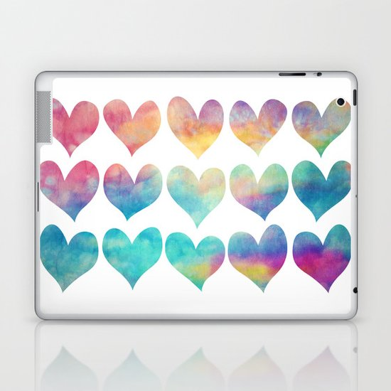 A Colorful Kind Of Love  Laptop & iPad Skin