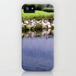 River Danube iPhone Case