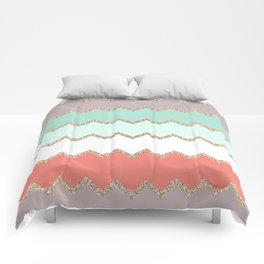AVALON CORAL MINT Comforters