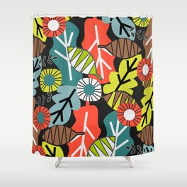 They fall in autumn Shower Curtain