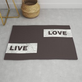Love live laught Rug