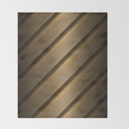 Copper Brass Metal Pipe Throw Blanket