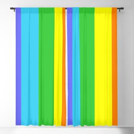 Rainbow.03. LGBT. Friendship, love. Blackout Curtain