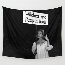 Witches Are People Too Wall Tapestry