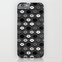 Dark Kiss iPhone Case