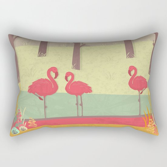 July Rectangular Pillow