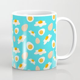 EGGSCITING! Sunny Side Up and Boiled Egg Pattern - Better Pattern  Coffee Mug