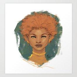 The brave love Art Print