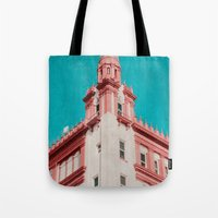 building Tote Bags featuring Building by Sweet Moments Captured