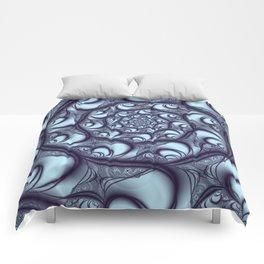 Fractal Web Comforters