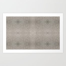 Photo Pattern - Condensation Cube Water Droplets Art Print