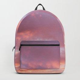 Unicorn Sunset Peach Skyscape Photography Backpack