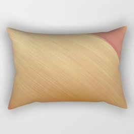 gold cascade Rectangular Pillow