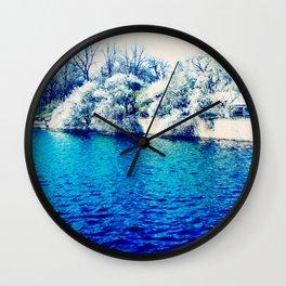 Blau Wall Clock