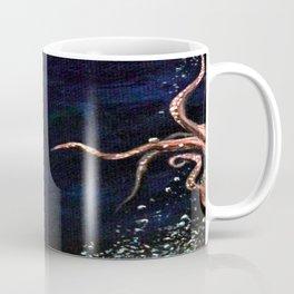 Air and Water- Octopus Galaxy Coffee Mug
