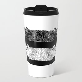 Lobas (Wolfs) Metal Travel Mug