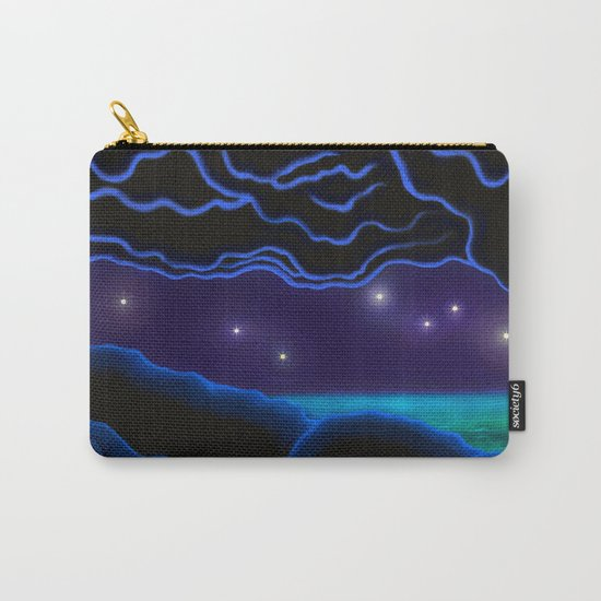 cave, sea and stars Carry-All Pouch