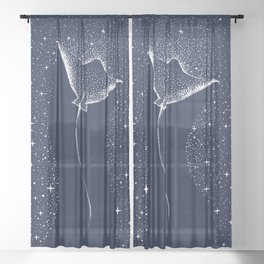 Star Collector Sheer Curtain