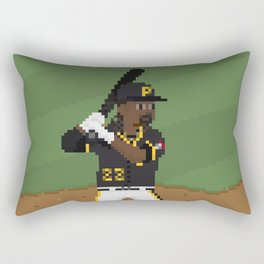 Major League Pixels - 8bit Cutch Rectangular Pillow