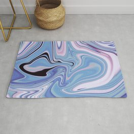 Marble Marbled Abstract Trendy XVII Rug