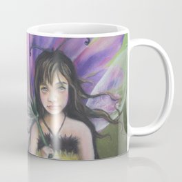 Z imagination Bee Girl Coffee Mug