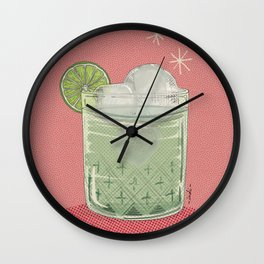 LEMON TONIC Wall Clock