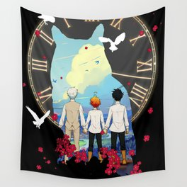 Emma - The Promised Neverland Anime Wall Tapestry