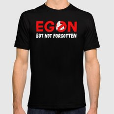 Egon but not forgotten  LARGE Black Mens Fitted Tee