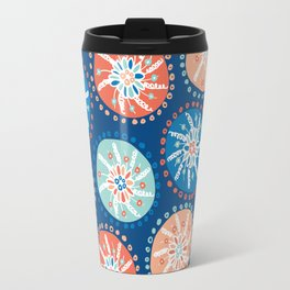 Flower Puffs Travel Mug