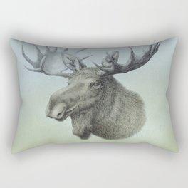 Moose, Elch, Elg Rectangular Pillow