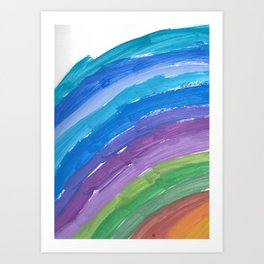 The Chance Watercolor Art Print