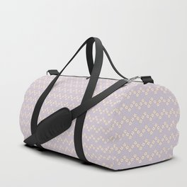 Chevron flowers - Orchid Hush Duffle Bag