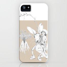 Weird & Wonderful: Harehopper iPhone Case