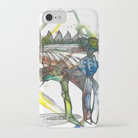 wings iPhone & iPod Cases featuring Wings by Dawn Patel Art
