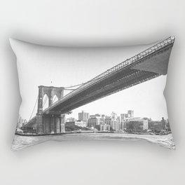 Brooklyn Bridge, NY. Rectangular Pillow