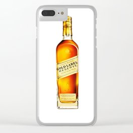 Johnny Gold Clear iPhone Case