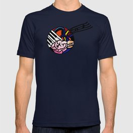 Quality Key: Abstract T-shirt