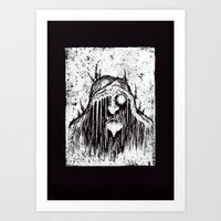 Forest troll Art Print
