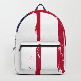 Hot Rod Design, Patriotic Classic Cars Print Backpack
