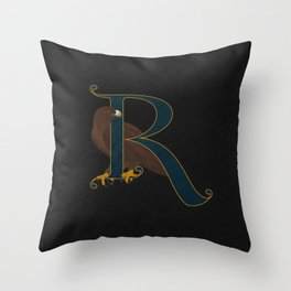 Of Wit & Learning Throw Pillow