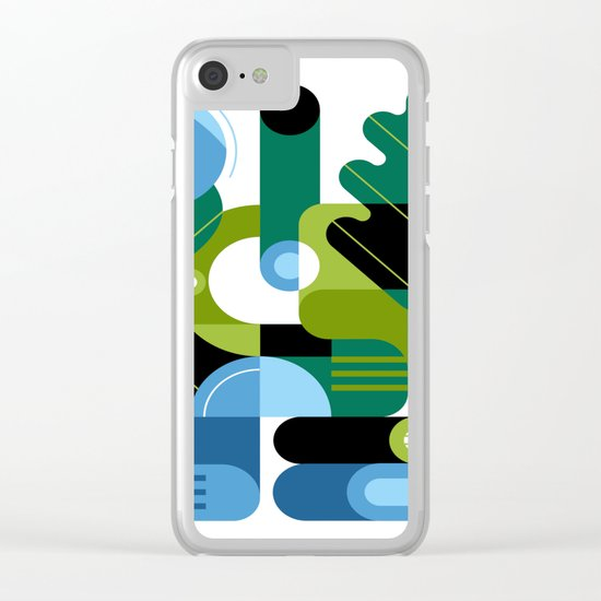 Biology Clear iPhone Case