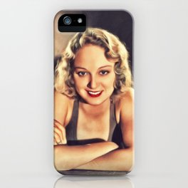 Leila Hyams, Vintage Actress iPhone Case
