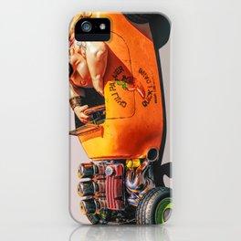 Hot Rod Debt Collector iPhone Case